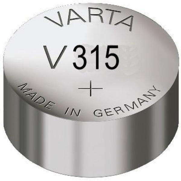 Varta Uhrenbatterie 315, wie V315, 614, 280-56, D315, 315, SR716SW, SB-AT, HA, SR67