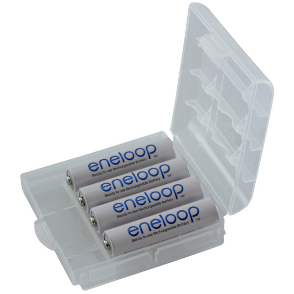 Akkus Panasonic Sanyo Eneloop Micro AAA, Ni-Mh, 4er-Box, wie 824, E92, LR03N, 24A, K3A, R03, LR3