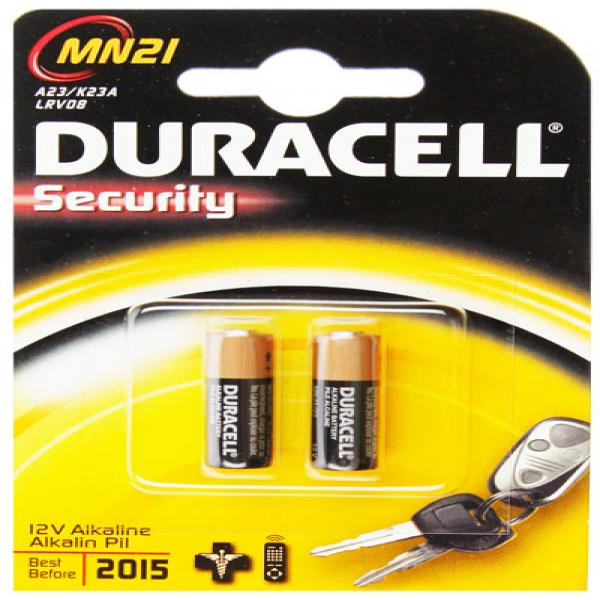 Batterie Rundzelle MN21, LRV08, V23GA, 12 Volt, 2 Stück, MN23, MS21, LR23A, A23, GA23A, GP23, V23GA