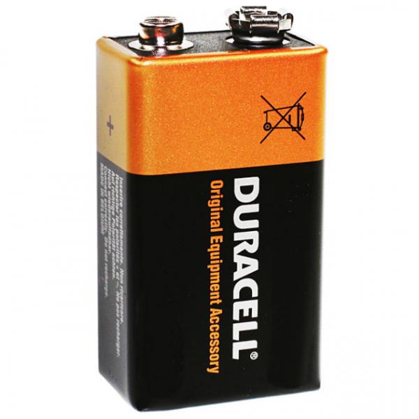 Duracell Batterie 6AM6, Alkaline, 9 Volt Block: Typ MN1604