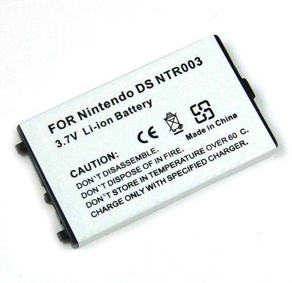 Akku für Nintendo DS NTR003, Li-Ion