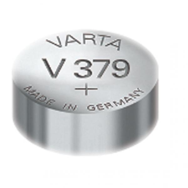 Varta Uhrenbatterie 379, wie V379, 618, 280-59, D379, SR521SW, 1191SO, SB-AC/DC, JA, SR63, SR521
