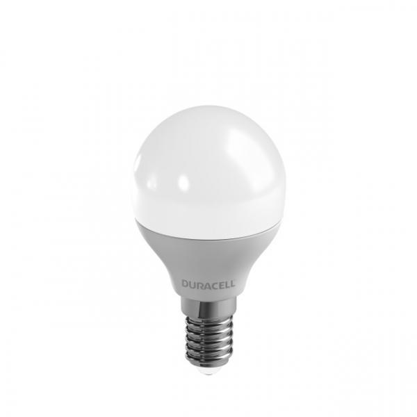 LED-Lampe Duracell E14, 2W, A++, warmweiß 2700K