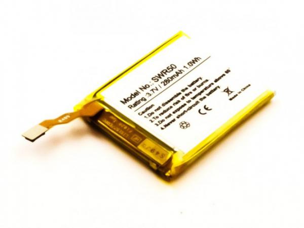 Akku für Sony SmartWatch 3, SWR50, wie GB-S10, GB-S10-353235-0100