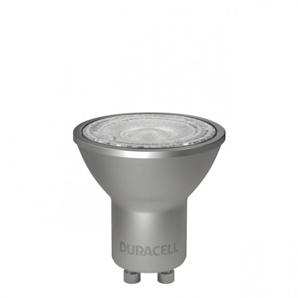 LED-Birne Duracell 7W Spot GU10, A+, 230V, 500Lm, kaltweiß 6500k