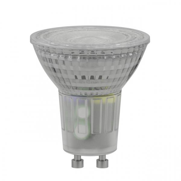 LED-Lampe Duracell Glas Spot GU10, 230V, 5W, A+, warmweiß 3000k, nicht dimmbar