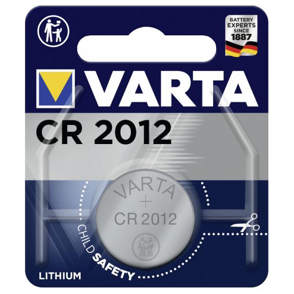 Varta Professional Electronics CR 2012 Knopfzelle, wie BR2012, DL2012, CR2012, BR2012, DL2012