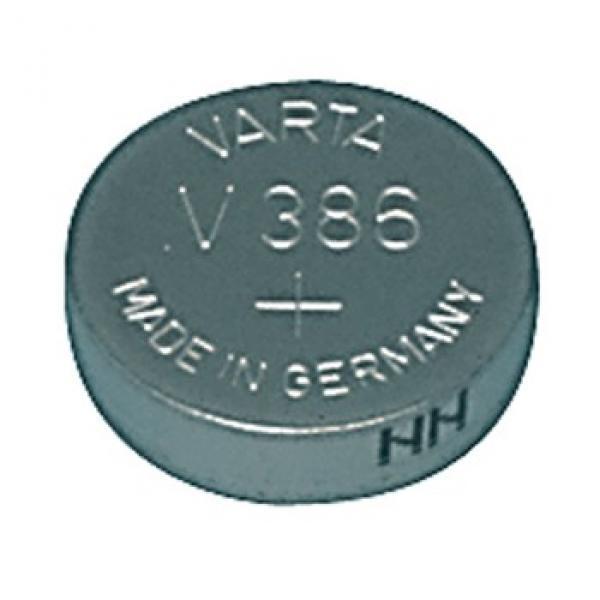 Varta Uhrenbatterie 386, wie LR43, V12GA, PX86A, A86, LR1142, L1142, KA86, AG12, 186, S07, 260