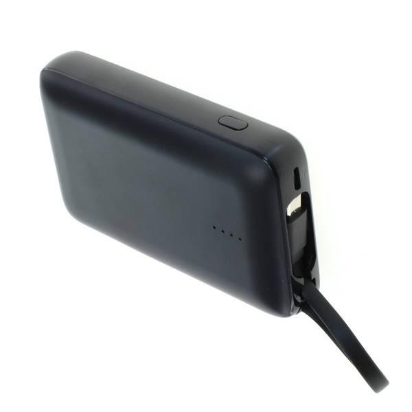Universal Zusatz-/ Notfall-Akku Powerbank mit 10.000 mAh zum Laden fast aller Geräte, USB-Ausgang