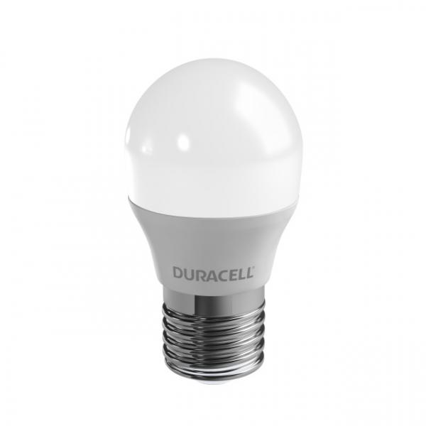 LED-Lampe Duracell E27,230V, 6W, A+, warmweiß 2700K, dimmbar