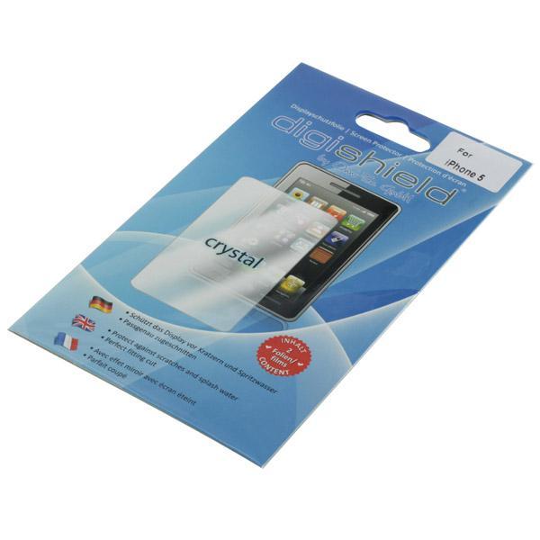 Displayschutzfolie für iPhone 5/5S, SE, standard-klar, 2 Stück