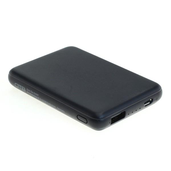 Universal Zusatz-/ Notfall-Akku Powerbank mit 5000 mAh zum Laden fast aller Geräte, USB-Ausgang