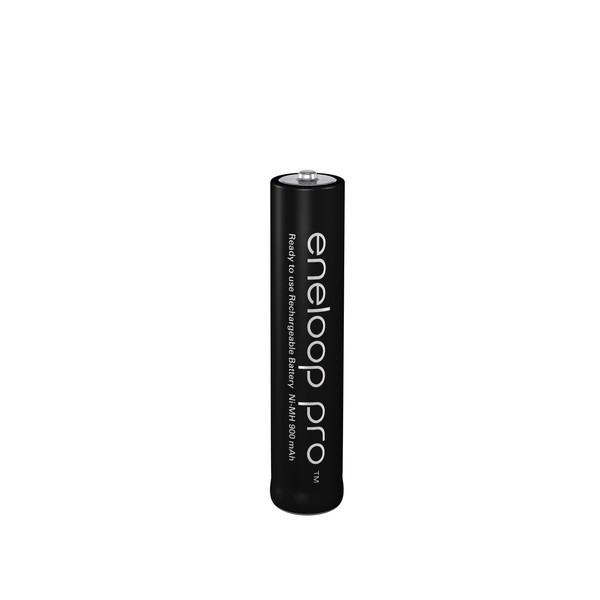Akkus Panasonic Eneloop Pro Micro AAA, HR03, LR03, BK-4HCCE/BF1, 1,2 Volt, Ni-Mh, 950 mAh, 1 Stück